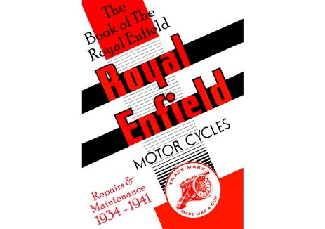 Workshop manual for Royal Enfield pre-war model A, B, C, CO, G, J, JF, K, KX