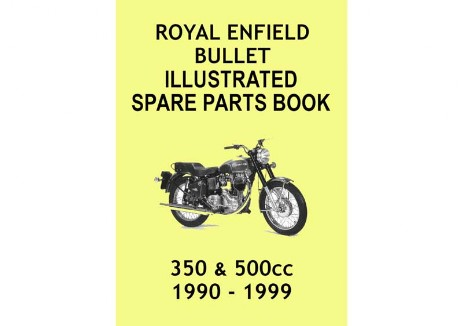 Parts book 1990 to 1999  Royal Enfield Bullet