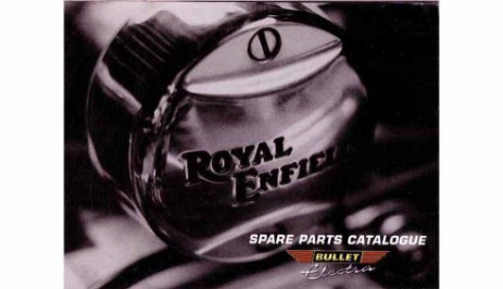 Spare Parts Book Royal Enfield Electra X