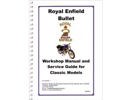 bullet workshop manual 1999 2008 royal enfield books. Black Bedroom Furniture Sets. Home Design Ideas