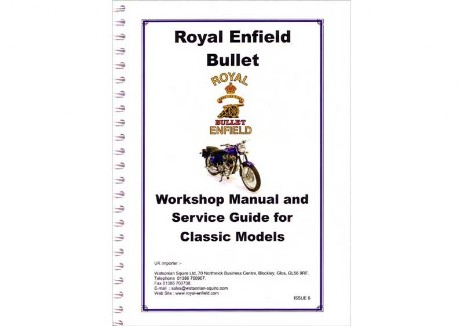 1999 - 2008 Royal Enfield Bulet manual