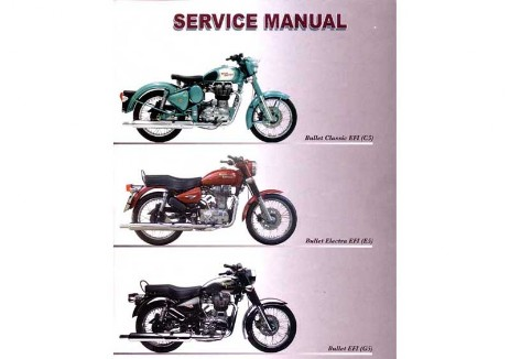 Royal Enfield Bullet, Classic, EFI Workshop Manual