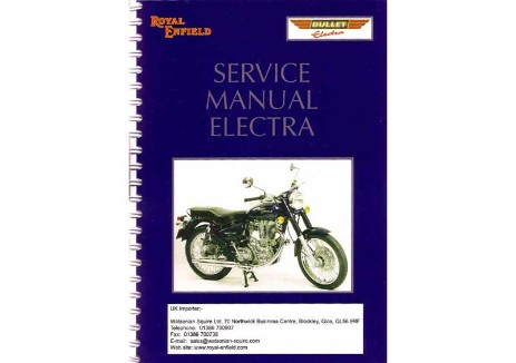 Royal Enfield Lean Burn Manual