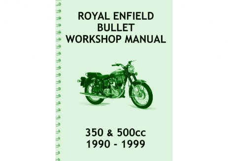 1990 to 1999 Royal Enfield 350 and 500cc Bullet manual