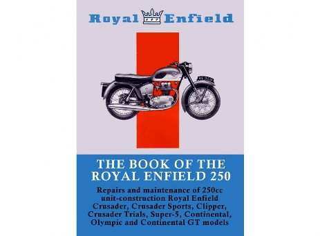 Manual for Royal Enfield Crusader, Clipper, Continental GT, Crusader Sports